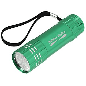 100 Promotional Flashlights | Pocket LED Flashlight - Red
