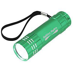 100 Promotional Flashlights | Pocket LED Flashlight - Red