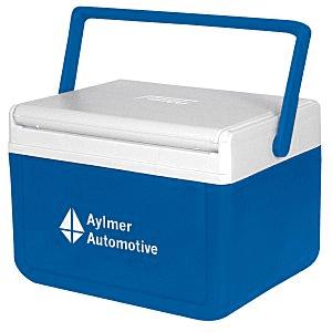 15 Imprinted Coolers | Coleman FlipLid Cooler - Blue