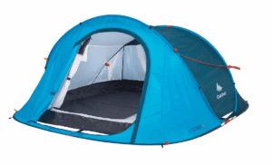 2 Seconds Camping Tent | 2 Person Blue / One Size / 8391914