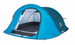 2 Seconds Camping Tent | 3 Person Blue / One Size / 8391915