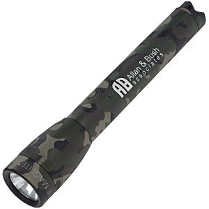 "24 Promotional Flashlights | Mini MagLite Flashlight - 5-3/4"" - Camo - Camo"