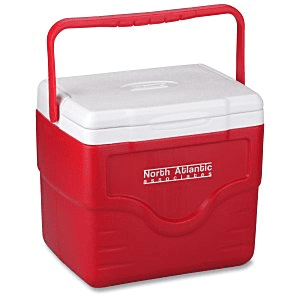 25 Customized Coolers | Coleman 9-Quart Excursion Cooler - Blue