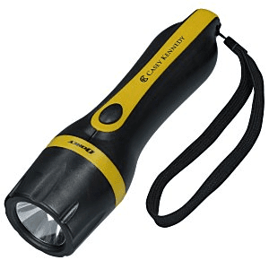 25 Personalized Flashlights | Dorcy Beam LED Flashlight - Yellow