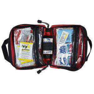 25 Promotioinal First Aid Kits | Outdoor First Aid Kit - Red