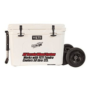 4 Wheel All Terrain Wheel System YETI Coolers - The Rambler X4