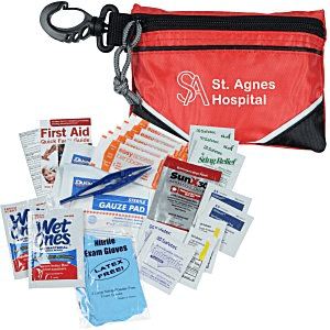 50 Custom First Aid Kits | Indispensable First Aid Kit - Black