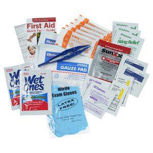 50 Custom First Aid Kits   Indispensable First Aid Kit - Black