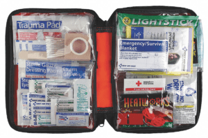 American Red Cross Emergency Preparedness Kit, Number of Components 106, Bulk Kit Type Model: RC-562