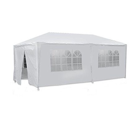 BBBuy 10'x20' Outdoor Party Wedding Tent Canopy Camping Gazebo Storage BBQ Shelter Pavilion, 6 Removable Sidewalls (10x20)