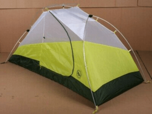 Big Agnes Blacktail 3 Tent: 3-Person 3-Season Gray/Green, One Size