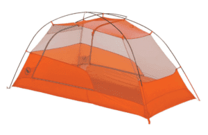 Big Agnes Copper Hotel UL2 Tent: 2-Person 3-Season Gray/Orange, One Size