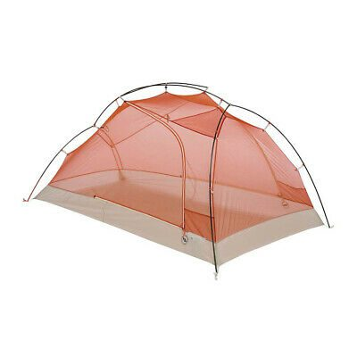 Big Agnes Copper Spur 3 Platinum Tent: 3-Person 3-Season Gray-Orange, One Size