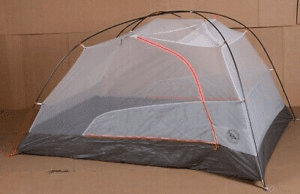 Big Agnes Copper Spur HV UL 1 mtnGLO Tent: 1-Person 3-Season Silver/Gray, One Size