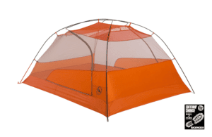 Big Agnes Copper Spur HV UL Tent, Grey/Orange, 3 Person