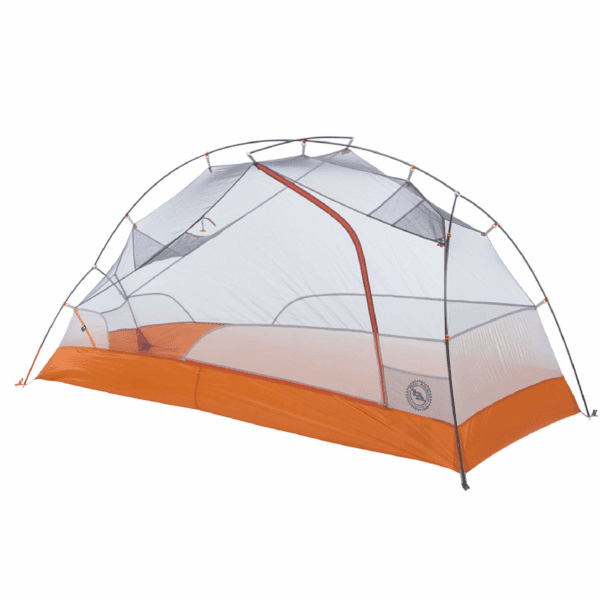 Big Agnes Copper Spur HV UL2 Bikepack Tent: 2-Person 3-Season Gray/Orange, One Size