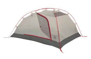 Big Agnes Copper Spur HV2 Expedition Tent: 2-Person 3-Season Red, One Size
