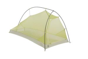 Big Agnes Fly Creek 1 Platinum HV Tent: 1-Person 3-Season Gray/Green, One Size