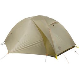 Big Agnes Inc. FishHook SL2 Zipperless Shelter: Light Gray/Moss