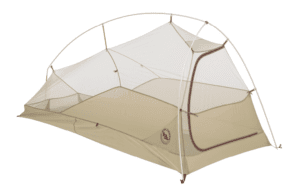 Big Agnes, Inc. Fly Creek HV UL1 Shelter, Ash/Yellow, 1-person - Backpacking Tents