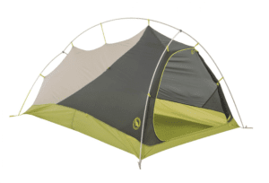 big agnes slater sl superlight backpacking tent, gray/green, 2 person