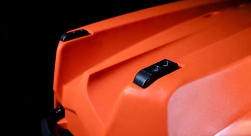 Bonafide RS117 Fishing Kayak TOP-GUN-GREY / 117