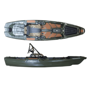 Bonafide SS107 Sit on Top Fishing Kayak Woodsman Limited Edition