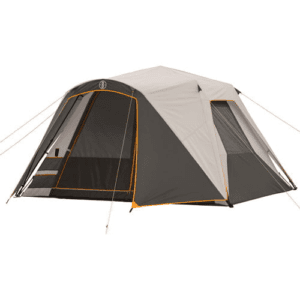 Bushnell Shield Series 11' x 9' Instant Cabin Tent, Sleeps 6, Gray