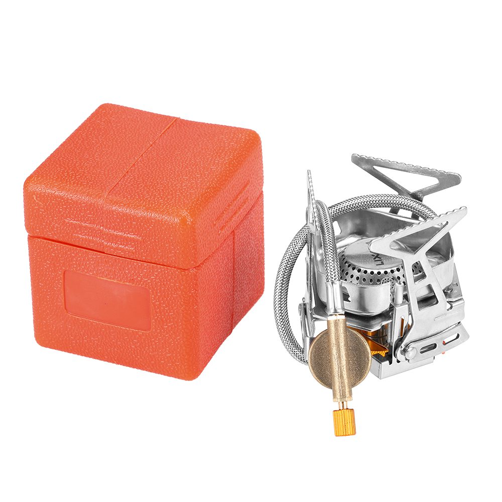 Lixada Foldable Windproof Camping Gas Stove Portable Outdoor Cooking Y1I8