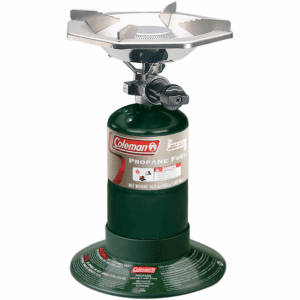 Coleman 10,000 BTU One-Burner Propane Camp Stove, Green