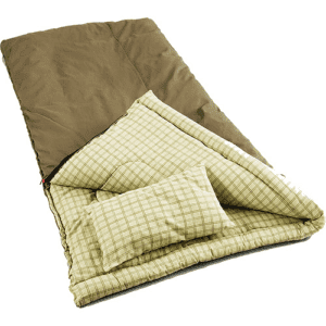 Coleman Big Game -5 Degree Canvas Sleeping Bag, Beige, Size Adult
