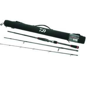 Daiwa Ardito Travel Rod 7ft6in Med-Light Spinning, Size: Medium, Black