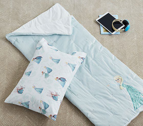 Disney Elsa Sleeping Bag, Sleeping Bag, Porcelain Blue