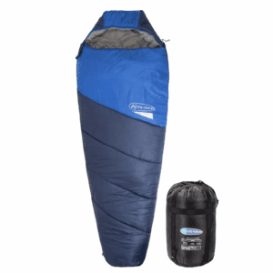 Display4top Premium Lightweight Mummy Sleeping Bag with Compression Sack - Portable, Waterproof,Comfort - Great for Outdoor Camping, Backpacking &