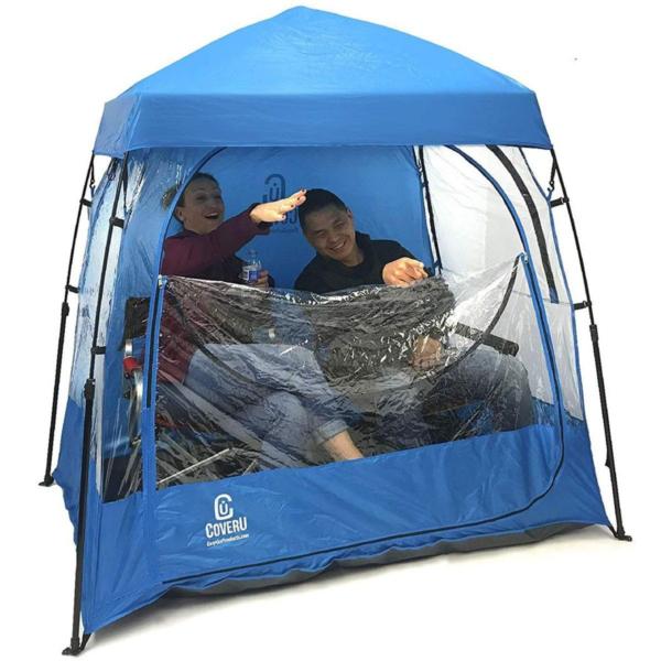 EasyGo CoverU SportPod 2-Person Chair Tent-Black