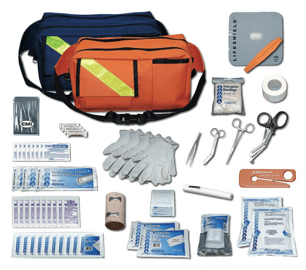 Emi Emergency Medical Kit, Number of Components 75, Bulk Kit Type Model: 858