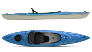 Hurricane Santee 120 Sport Kayak - Red