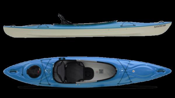 Hurricane Santee 120 Sport Kayak - Red