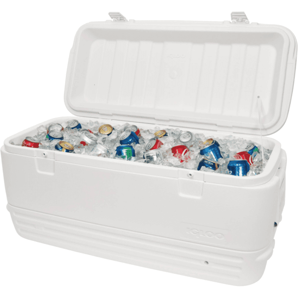 Igloo 120-Quart Cooler - White