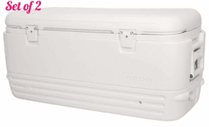 Igloo Polar Cooler (120-Quart, White) (Set of 2)