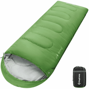 KingCamp XL Sleeping Bag (87x31.5''), 4 Season Warm & Cold Weather Lightweight Waterproof Wide Oversized Adults Sleeping Bag for Camping,