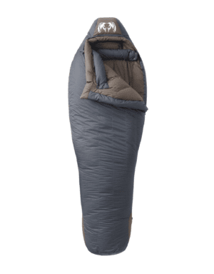 KUIU Super Down Sleeping Bag 0° in Phantom-Major Brown (Size Regular)