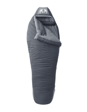 KUIU Super Down Sleeping Bag 15° in Phantom-Steel Grey (Size Long)