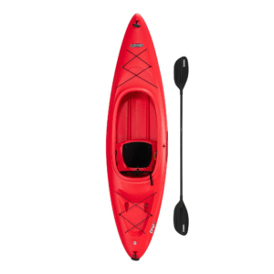 Lifetime Charger 100 Sit-In Kayak (Paddle Included), 90963, Red