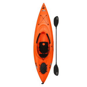 Lifetime Lancer 100 Sit-In Kayak (Paddle Included), 90817, Size: 10 ft, Orange