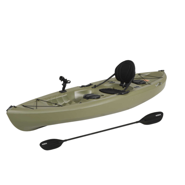 Lifetime Tamarack Angler 100 Fishing Kayak (Paddle Included), 90818, Size: 10 ft, Green