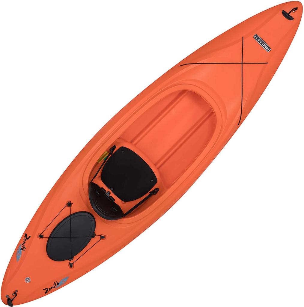 lifetime zenith 100 sit-in kayak