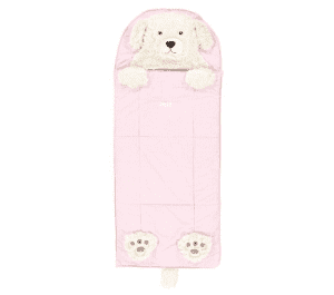 Light Pink Puppy Sleeping Bag - Kids Sleeping Bags & Nap Mats - Childrens Sleep Accessories