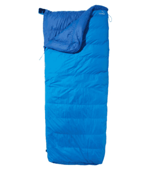 L.L.Bean Down Sleeping Bag with DownTek, Rectangular 0° Multi Color | L.L.Bean