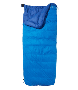 L.L.Bean Down Sleeping Bag with DownTek, Rectangular 20° Multi Color | L.L.Bean